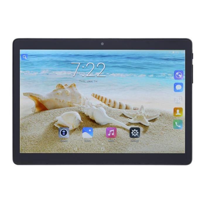 (Noir)Nouveau Tablet Pc Android 7.0 Quad Core 16Gb 9.6 pouces Hd Wifi 2 Sim 3G