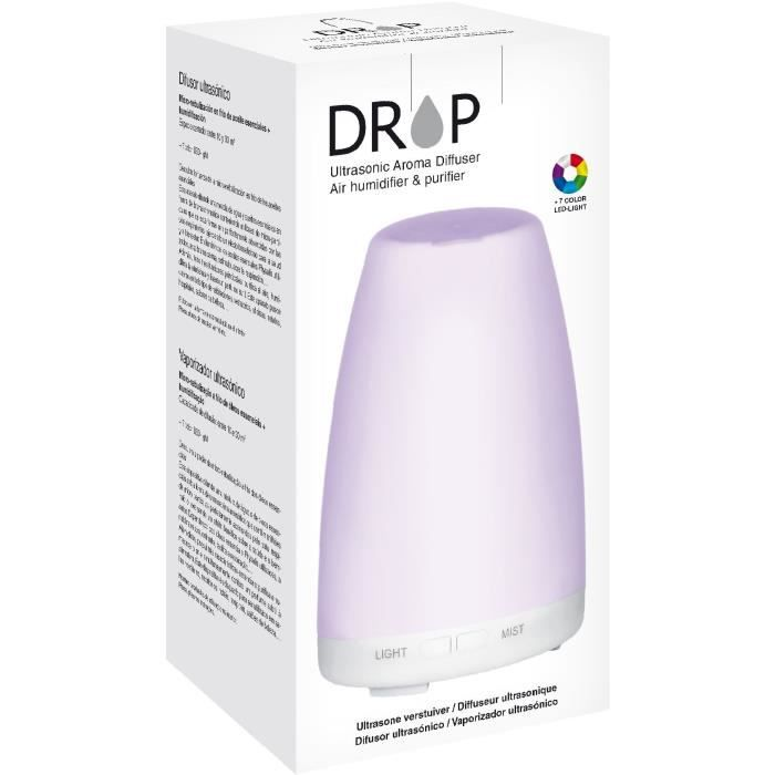Physalis Diffuseur ultrasonique Drop A (micro-nébulisation + humidification)