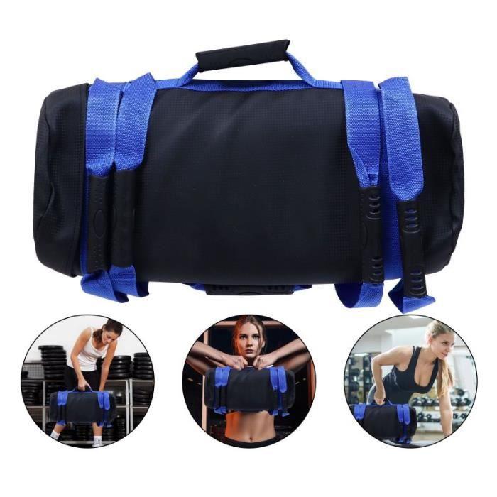 10KG Fitness Sandbag Workout Training Sac de sable Exercice Poids Power Bag PACK PRODUITS DE FITNESS - PACK PRODUITS MUSCULATION