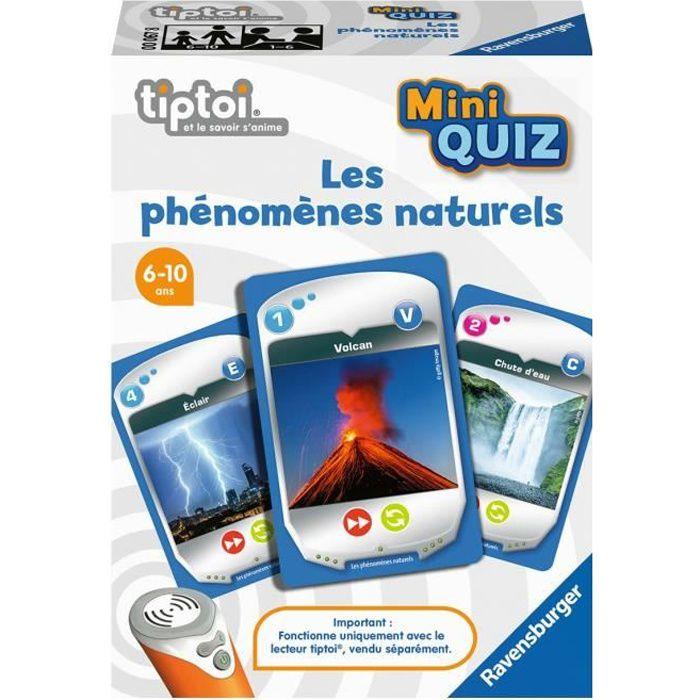 tiptoi® - Mini Quiz - Les phénomènes naturels