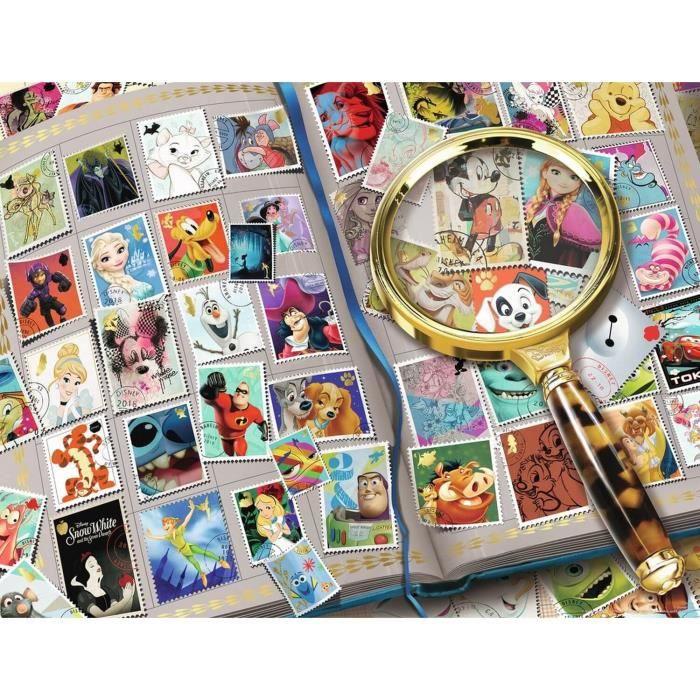 Puzzle 2000 p - Mes timbres préférés / Disney