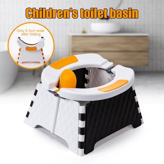 Siège D'entraînement De Pot Portatif Pour Siège De Toilette Pliable De Pot De Voyage D'enfants En Bas Âge