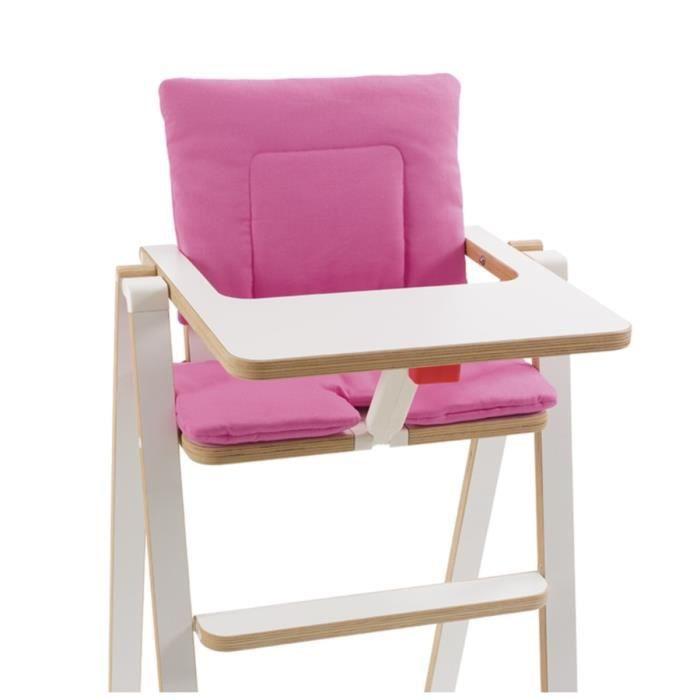 SUPAFLAT Coussin de chaise haute princess pink