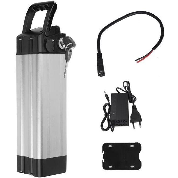 Batterie vélo 24V 10.4AH Batterie Li-ion avec Prise anglais pour Vélo Electrique Cycles Ridgeback Taille 8.5x8.5x11 cm VINTEKY®