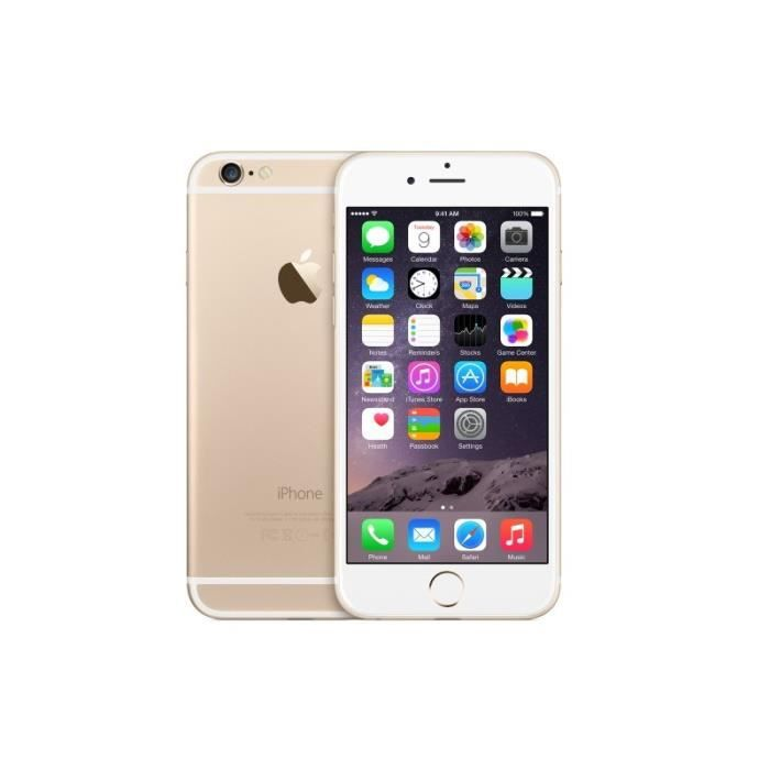SMARTPHONE RECOND. IPHONE 6 16GO OR RECONDITIONNE A NEUF