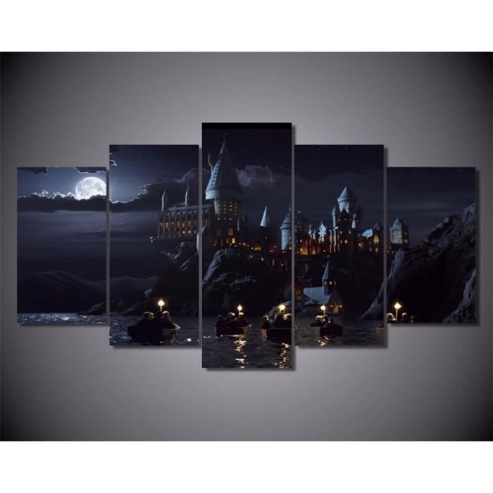 5 piece mur art toile estampes harry potter cole film