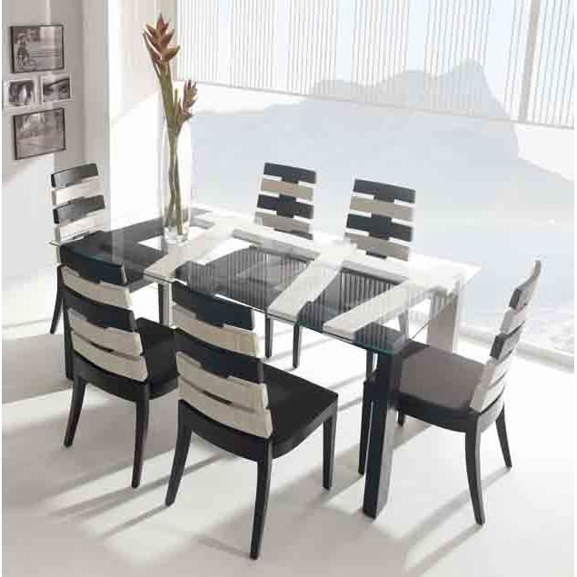tables pour salles manger en bambou mod le cross. Black Bedroom Furniture Sets. Home Design Ideas