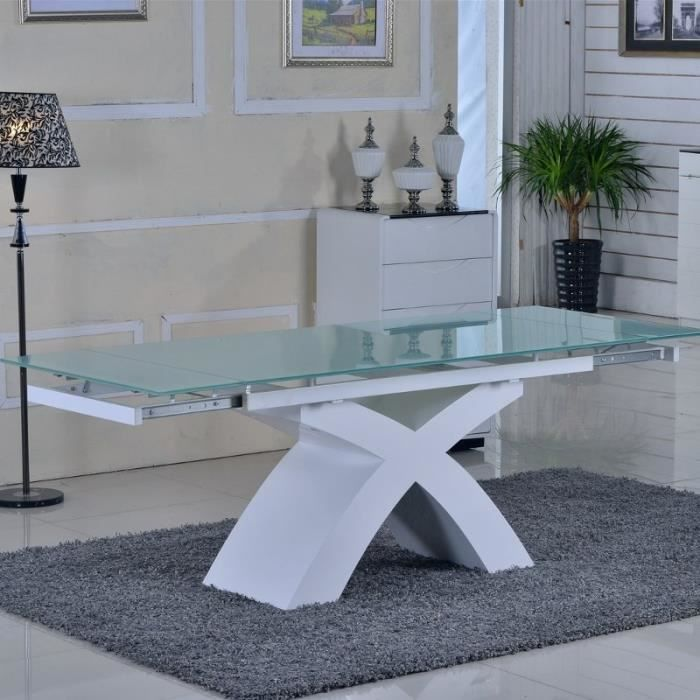 Pin Table Extensible Star Rallonges Int Gr Es Transparente