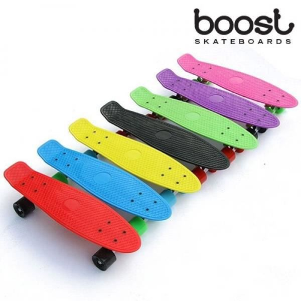 Skateboard fish boost skate 4 roues achat vente skateboard fish boost - Comment faire du skateboard ...