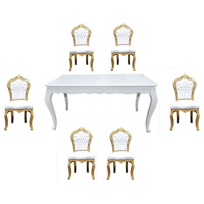 Table de salle a manger sans les chaise