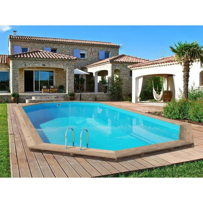 Piscine bois palma x x m achat vente for Piscine hors sol guadeloupe
