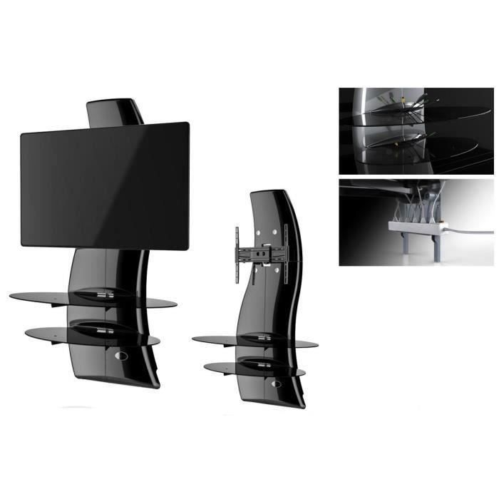 ghost design 2000 meuble tv support 32 63 meuble hifi int gr e prix pas cher cdiscount. Black Bedroom Furniture Sets. Home Design Ideas