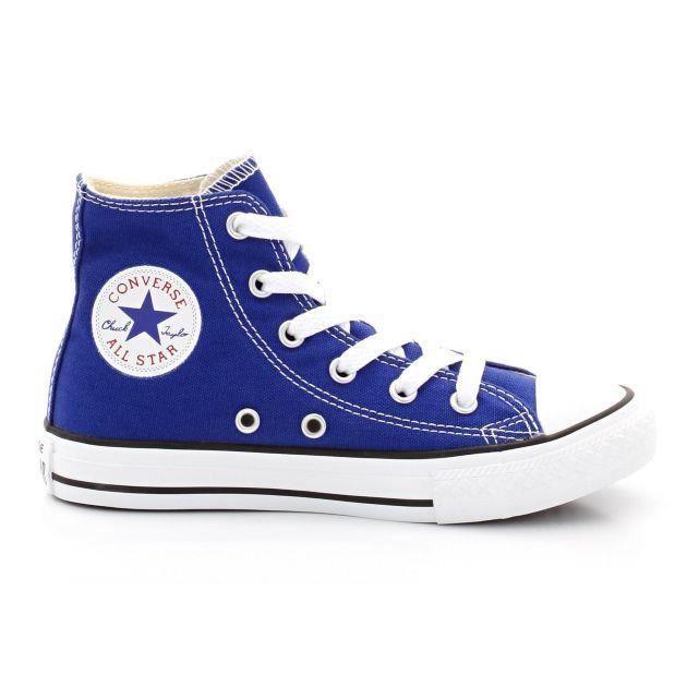 Basket converse chuck taylor all star high core-142366f bleu ...