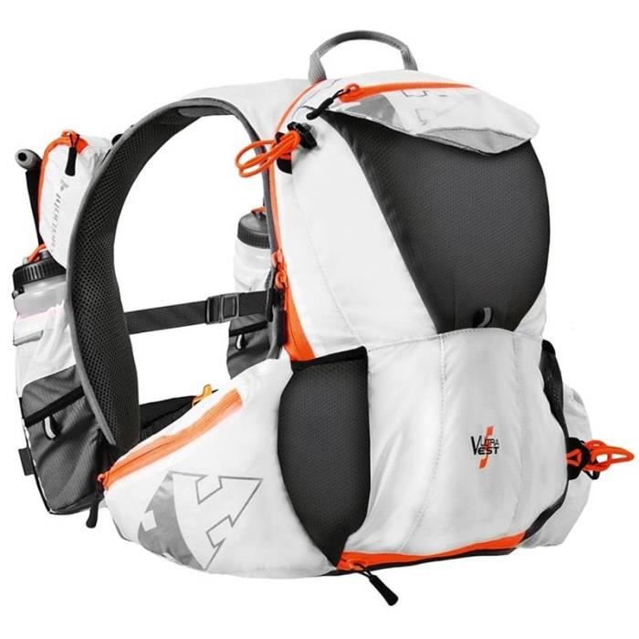 127c71a72e RAIDLIGHT - Sac a dos Trail - ULTRA VEST OLMO 5L Blanc/Orange - Prix ...