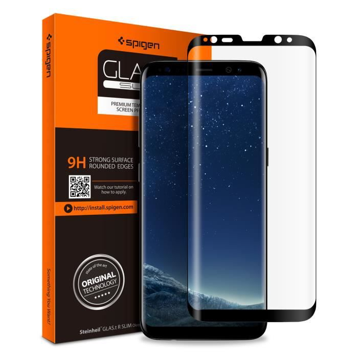 Ultra Transparent 1 Pi/èces sans Poussi/ère Protection en Verre Tremp/é /Écran pour Samsung Galaxy A40 G/én/érique Spyden Verre Tremp/é pour Galaxy A40 Duret/é 9H