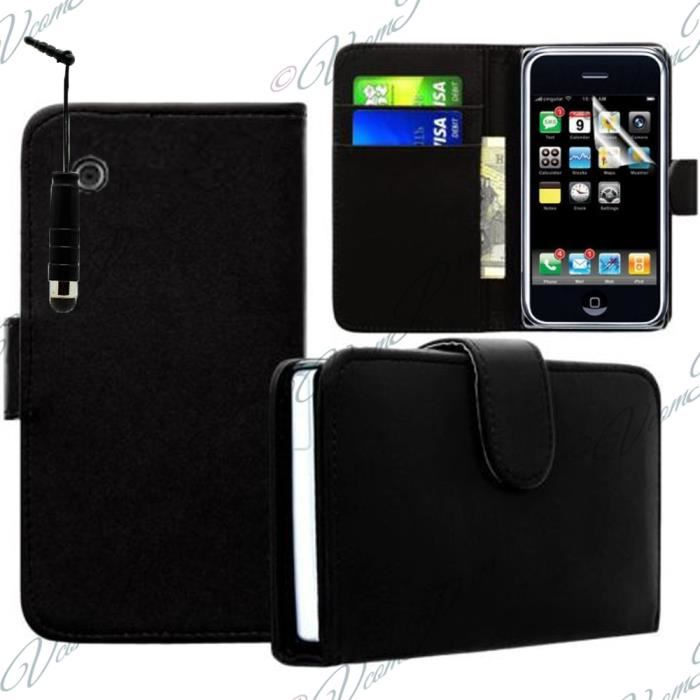Etui portefeuille apple iphone 3g 3gs achat vente for Housse iphone 3g