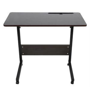 BUREAU  Table d'ordinateur portable amovible (bureau en no