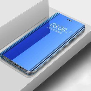 HOUSSE - ÉTUI Étui Xiaomi Redmi Note 8 Pro, Clear View Miroir Tr