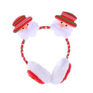 Boucle d'oreille Décoration de Noël Boucle d'oreille Cache-oreilles