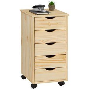 CAISSON DE BUREAU  Caisson de bureau LAGOS meuble de rangement à roul