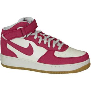 BASKET Nike Air Force 1 Mid 315123-607 Homme Baskets Blan