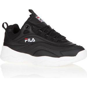 DERBY FILA Baskets Ray Low - Noir/Blanc - Homme