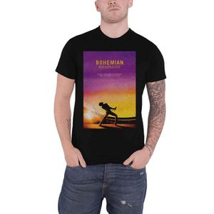 T-SHIRT officiel Bohemian Rhapsody T Shirt Queen Movie Log