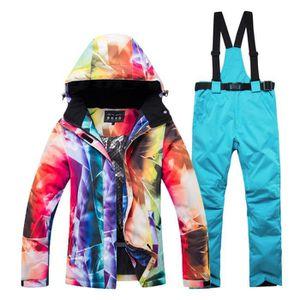 PANTALON DE SKI - SNOW Combinaison de ski femme de marque luxe Combinaiso