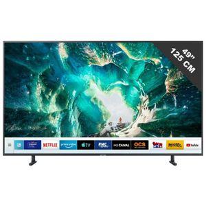 Téléviseur LED TV LED de 46 à 52 pouces SAMSUNG - UE 49 RU 8005 •