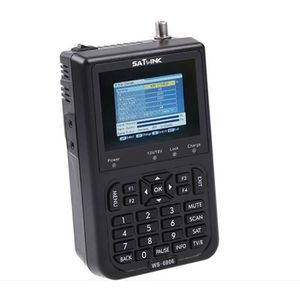 RÉCEPTEUR - DÉCODEUR   Satlink WS-6906 Détecteur de satellite numérique p
