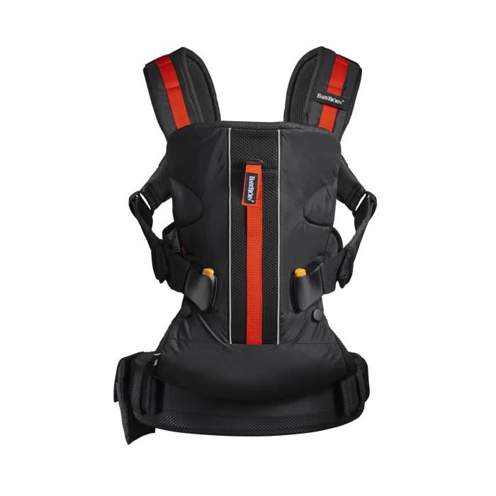 BABYBJORN Porte-bébé One Outdoors Noir One