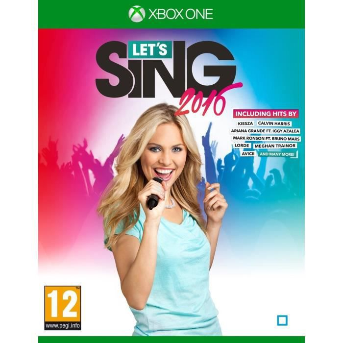 Let's Sing 16 Hits Internationaux Jeu Xbox One