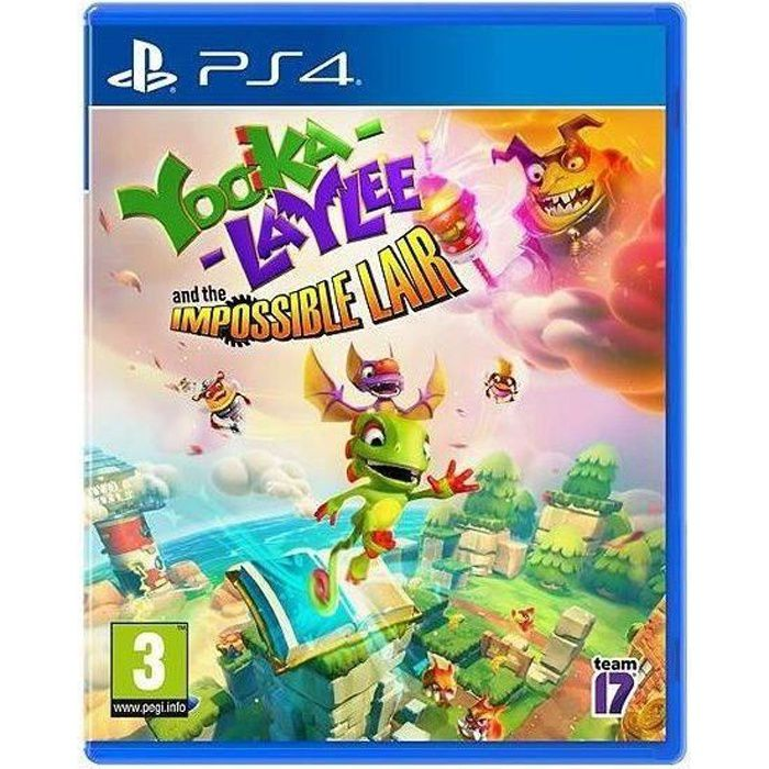 Yooka-Laylee : The Impossible Lair Jeu PS4