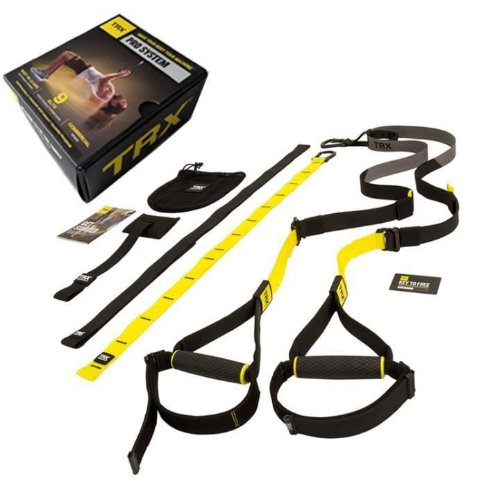 (8 sets) Ceinture d'entraineur de musculation TRX Fitness