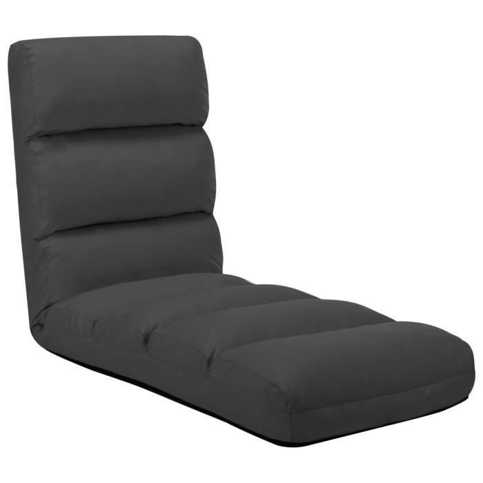 Bravo}4349Haute qualité Chaise de Méditation Canapé Paresseux Chaise pliable de sol Contemporain - Canapé-lit au Sol Pliable Confort