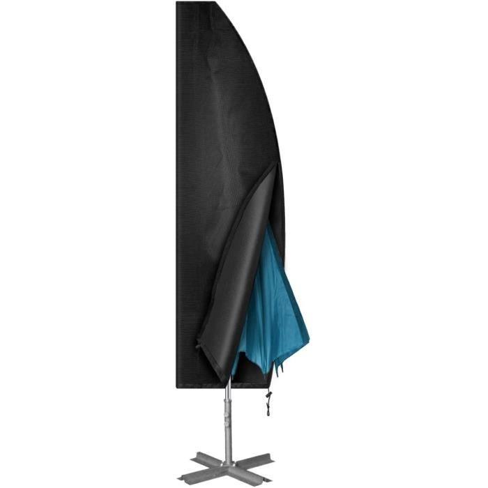 PARASOL Chenci Housse de Parasol D&eacuteport&eacute 420D Housse de Protection pour Parasol Couverture de Parapluie Oxford Impe569