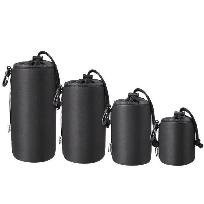Kit de nettoyage professionnel et sac de rangement MVPower pour objectif