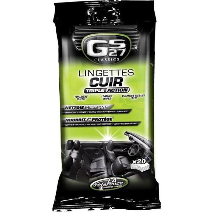 Lingettes Cuir Classics GS27 CL180410