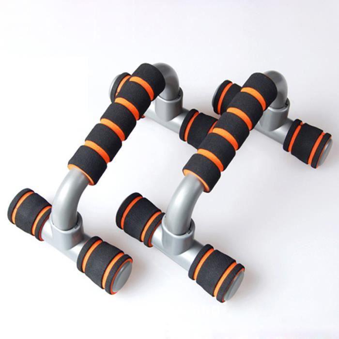 Poignée de Pompe Multifonctionnelle Antiglissante pour Push Up Musculation des Bras, Épaules, Dos, Poitrine,Triceps ( 1 paire)