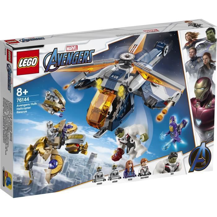 LEGO® Marvel Avengers 76144 L'hélicoptère des Avengers