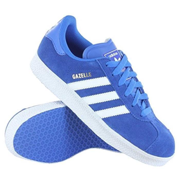 Chaussures De Running AM8YU Gazelle II Chaussures Bleu Marin - Blanc, Taille 8 Taille-40 1-2