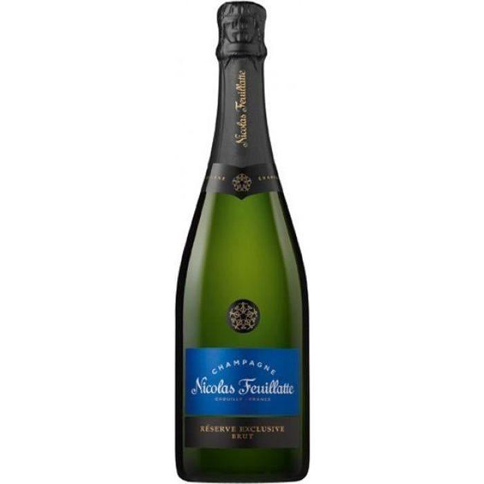 6x Nicolas Feuillatte Brut Réserve Exclusive Brut - Champagne
