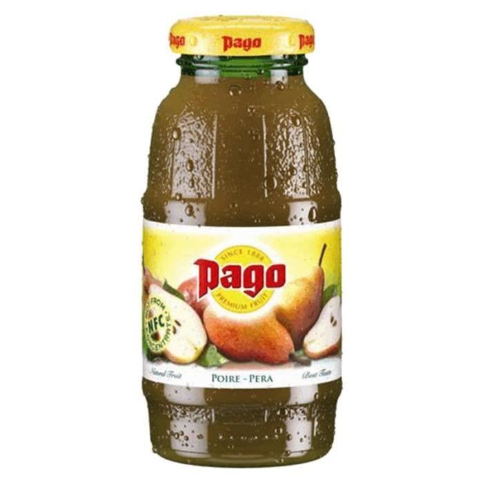Pago Nectar Poire 20cl (pack de 12)