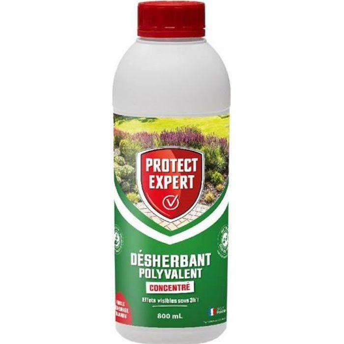 Protect Expert - Désherbant polyvalent - Ultra concentré - 800ml