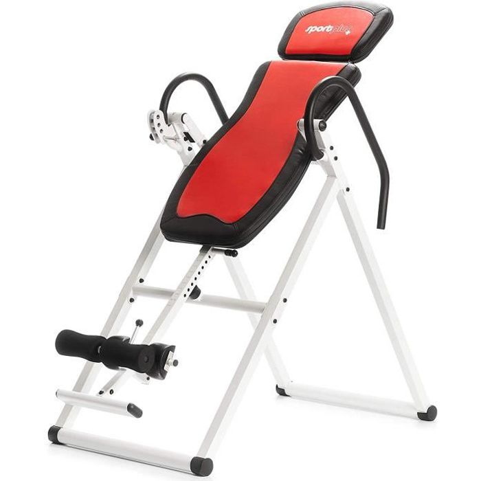 Table d'Inversion / Gravity Trainer - SportPlus avec le Système -Perfect-Balance- et inversion totale- Multicolore