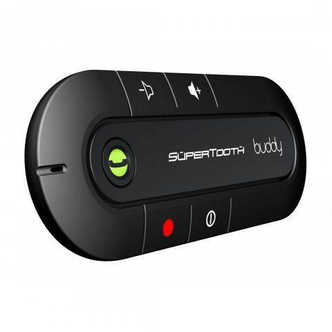 SuperTooth Kit-voiture mains libres Bluetooth pour pare-soleil Buddy - Noir