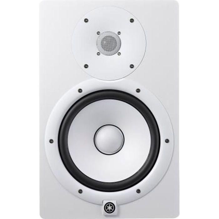 Yamaha HS8 Haut-parleur pour écran 120 Watt 2 voies blanc