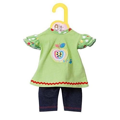 Zapf Creation 870068-Dolly Moda T-Shirt avec Leggings 38-46 cm 4001167870068