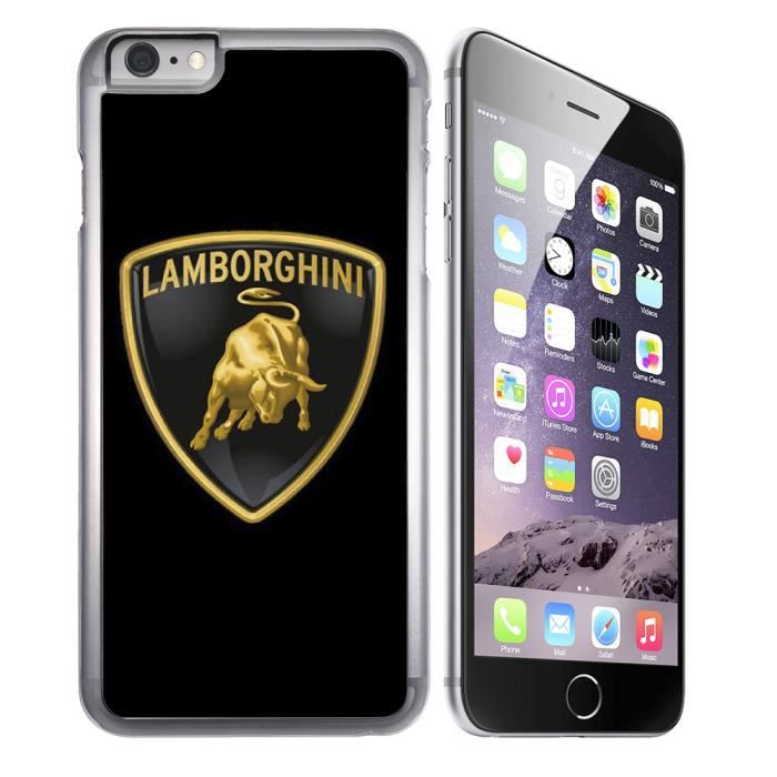 coque iphone 8 lamborghini