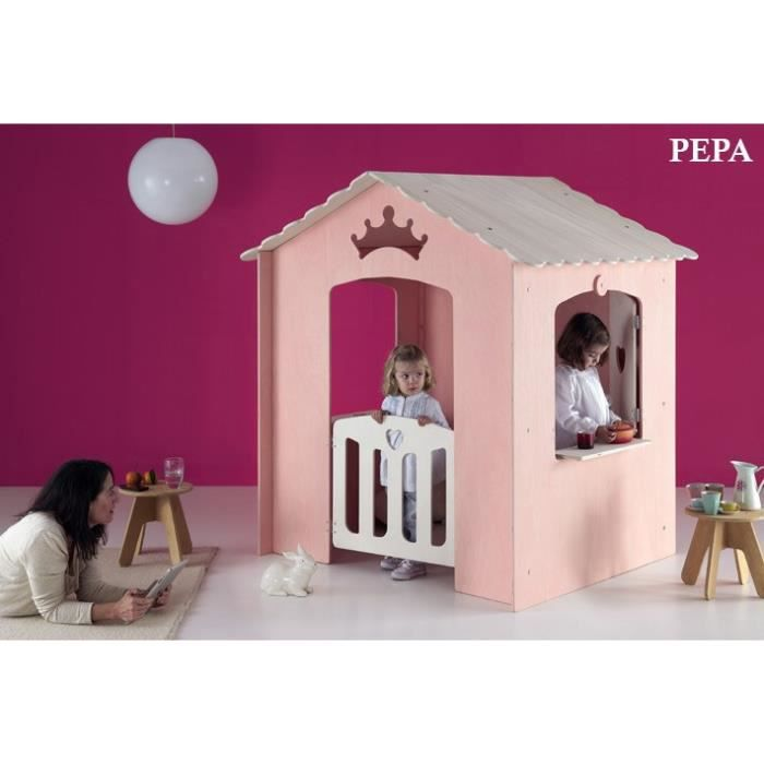 cabane int rieur enfant pepa achat vente maisonnette ext rieure cdiscount. Black Bedroom Furniture Sets. Home Design Ideas